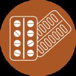 Blister logo packaging